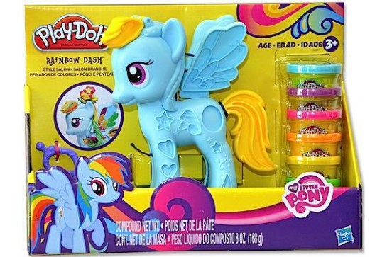 Ciastolina Play-Doh Salon Fryzjerski Rainbow Dash